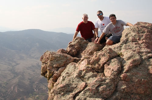 3 Real Guys On a Mountain