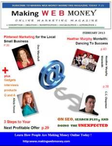 Making web Money February 2013