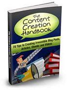 Vontent Creasion Handbook