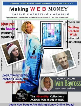Making Web Money November 2016