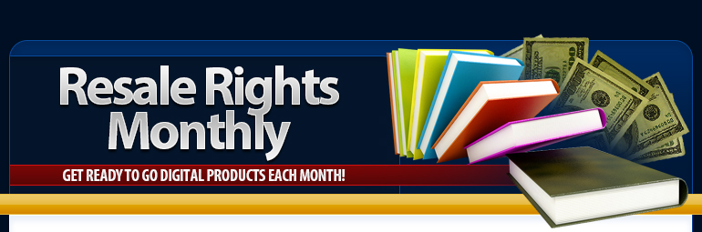 Best Master Resell Rights Monthly