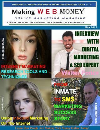 Making Web Money MAY 2017