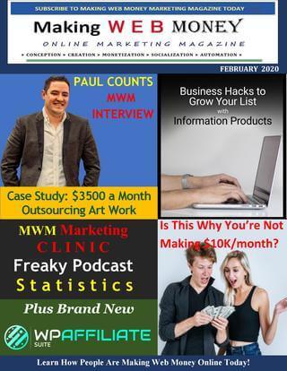 Making Web Money February 2020