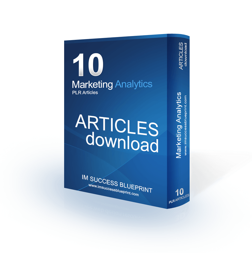 10 Marketing Analytics Articles PLR